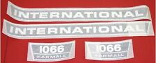 International 1066 Vinyl Decal Set