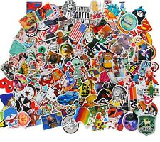 50pcs Skateboard Vinyl Sticker Skate Graffiti Laptop Luggage Car Bomb Decal Lot