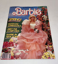 Barbie Magazine Spring 1985 -great For Any Barbie Collector Free Shipping
