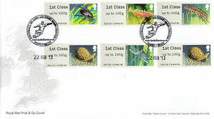 (62792) CLEARANCE GB FDC Post Go Freshwater Life Ponds Football Manchester 2013