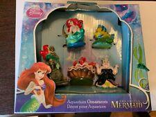 Penn Plax Little Mermaid 5 Piece Mini Resin Ornaments For Aquariums Damage Box