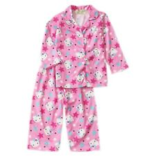 Hello Kitty Long Sleeve Pajama Set Girls Toddler/Kids Sleepwear