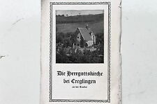 23454 Prospekt die Herrgottskirchebei Creglingen an der Tauber um 1925
