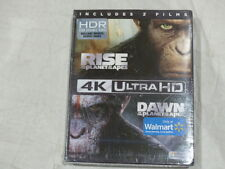 RISE OF THE PLANET OF THE APES/DAWN OF THE PLANET OF THE APES 4K ULTRA HDBLU-RAY