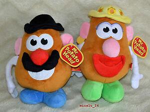 Plüsch Mr. Potato / Mrs. Potato ca. 26cm Kartoffelkopf aus der Toy Story - NEU