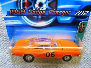 Hot Wheels 1969 Dodge Charger Treasure Hunt Miniature Car