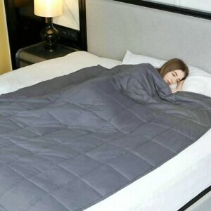THERAPEUTIC WEIGHTED BLANKET 8kg ***Includes Cover*** RRP £179!! 150 x 200