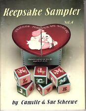 Keepsake Sampler Vol 4 1989 Scheewe - Tole Painting Patterns and Instructions