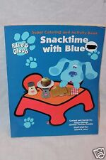 NEW BLUES CLUES SNACKTIME WITH BLUE SUPER COLORING AND ACTIVITY BOOK