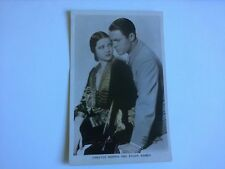 Sylvia Sidney + Chester Morris Vintage Rare Movie Old Hollywood Postcard - VGC