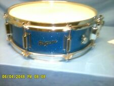 Rogers Holiday Blue Sparkle Snare Drum