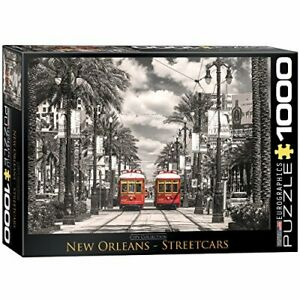 EuroGraphics New Orleans Streetcars Puzzle 1000 Pieces