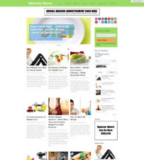 DIET STORE - Business Website For Sale Mobile Friendly Responsive Design