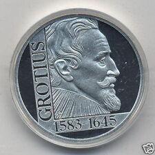 manueduc   25 Ecu Grotius 1995 PROOF Plata  NUEVA