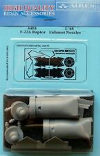 Aires 1/48 F-22A Raptor Exhaust Nozzles for Hasegawa kit # 4481