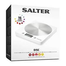 Salter 1036 Whssdr Electrónica Aquatronic Ultra-delgado disco cocina balanza