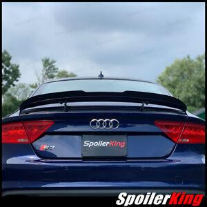 Rear spoiler extension w/center cut 284GC (Fits: Audi A7 / S7 / RS7 2012-2018)