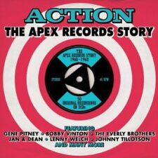 Action - The Apex Records Story 1960-1962 2CD NEW/SEALED