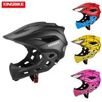 Fahrradhelm Kinder Helm Fullface Schutzhelm Jungen Mädchen Bike Helmet Kids