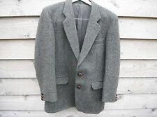 "Vintage Harris Tweed Green Jacket By Alpha Plus Size 38""- 40"" R. Ex Con"