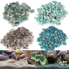 100g Natural Quartz Stone Pebble Jewelry Flowerpot Fish Tank Aquarium Decoration