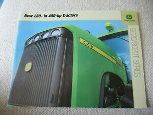 John Deere 9120 9220 9320 9420 9520 9020 9020T series tractor brochure 36 pages