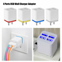 US Plug Universal Mini USB Wall Charger Travel Adapter for iPhone Samsung Tablet