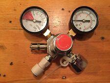 CO2 Regulator inc 2m gas line and JG fitting.  Cornelius Keg Homebrew Beer Reg