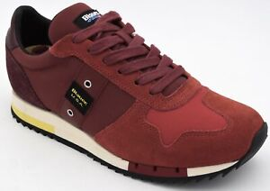 BLAUER MAN SNEAKER SHOES SPORTS CASUAL TRAINERS FREE TIME CODE 8FQUINCY01