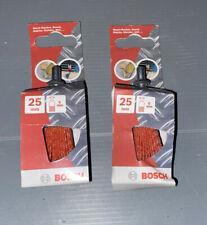 2x Bosch Schleifbürsten 25mm, Aufnahme 6mm