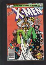 Uncanny X-Men Annual #6 Vs Dracula! Blood Feud! Storm as a Vampire Cover!