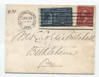 1895 E4 special delivery Philadelphia PA with machine cancel cover [y2598]