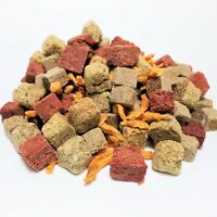 GB-680 Freeze Dried Cubes with Krill - Tubifex, Brine Shrimp, Beef Heart & Krill