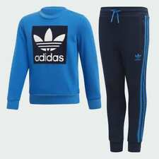adidas Originals infant blue Trefoil suit. Ages 3-4, 4-5, 5-6, 7-8 years.