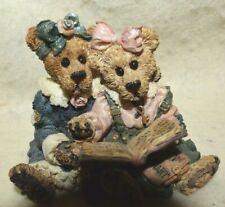 """Estate:1997 Boyds Bears & Friends """"Best Friends"""" Be slow in choosing a friend,."""