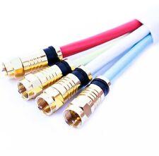 Videokabel & -Stecker mit Anschluss Splitter/Doppler 1:4 und Kabellänge 20-25 m