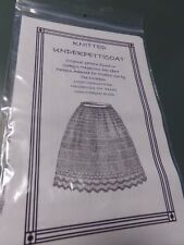 Victorian Civil War 19 Century Petticoat Knit Pattern adapted from original New