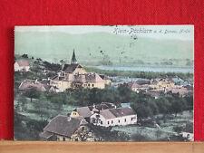 Farbkarte - Klein-Pöchlarn a.d. Donau - gel 1917 - Mostviertel - Bezirk Melk