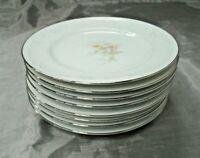 "Noritake ANTICIPATION Set of 8-6 3/8"" Bread Butter Dessert Plates #2963 Japan EC"