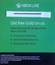 Microsoft Xbox Live 14 Days Gold Trial Code