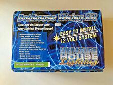 Dollhouse Miniature Deluxe Wiring Kit Cir-Kit MH4010 - 40 Watt Transformer, etc