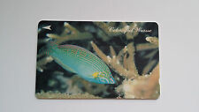 SINGAPORE PHONE CARD 3 CORAL FISH MINT CONDITION SINGAPORE TELECOM