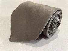 Canali Men's Grey Solid Silk Neck Tie $215