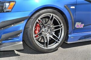 Concave Concept CC02 18x9.5 +15 Limited Hyper Black Edition Skyline EVO GTR