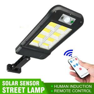 Faro lampione stradale pannello solare fotovoltaico sensore 160 led COB T-9324