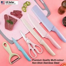 Knives Set Stainless Steel 6 Piece Cutlery Professional Kitchen Chef Knife