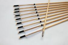 12PK Traditional Wood Arrows Mediaeval arrow Archery Hunting For Longbow Recurve