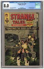 Strange Tales 138 (CGC 8.0) 1st app. Eternity; Dormammu; Ditko; Kirby (j#6769)