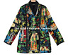 Indian Cotton Farida Kahlo Quilted Jacket Hand Crafted Cotton Boho Winter Jacket