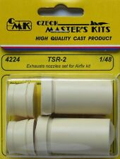 CMK 1/48 TSR-2 Exhaust Nozzles Set for Airfix kit # 4224